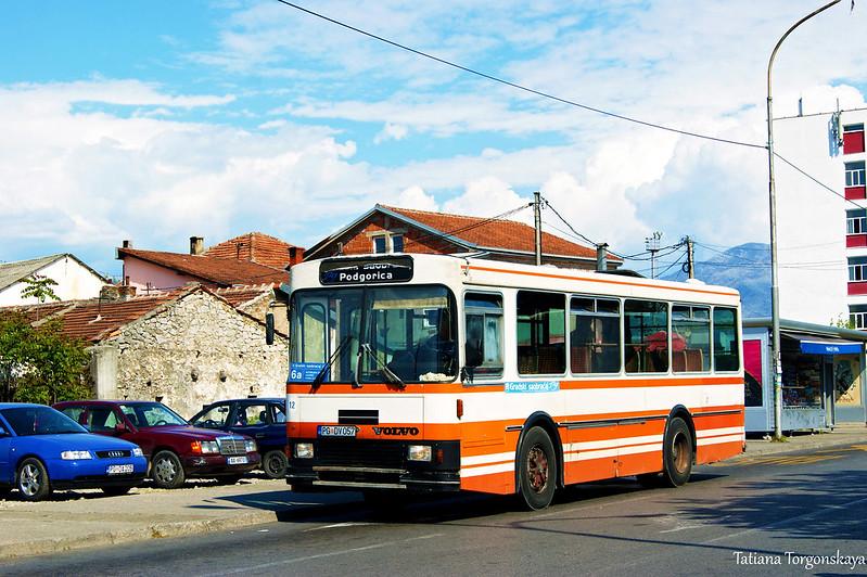 Автобус №6а на конечной