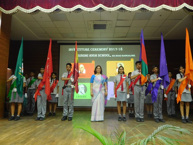 INVESTITURE CEREMONY 2017-18 (Striving to Serve - Smiling as We Serve)