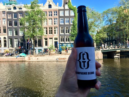 Cooling down in Amsterdam after a day of Browser API talks ahead of tomorrow's CSS Day. | by adactio