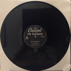 THE MCCRARYS:LOVE ME ON A SUMMER NIGHT(RECORD SIDE-A)