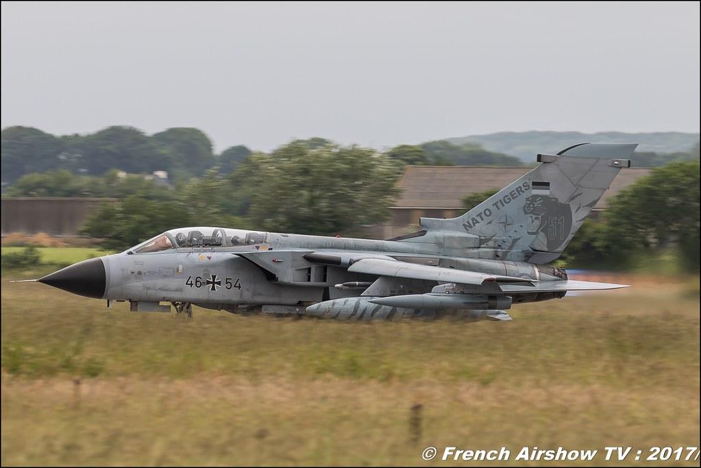 Tornado ECR & IDS , TaktLwG 51 'I' (GAF) , Nato Tiger Meet landivisiau 2017 , NTM2017 ,Spottersday Nato Tigers , Harde to be humble , bretagne