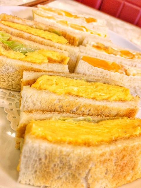 Hamanoya parlor egg sandwich