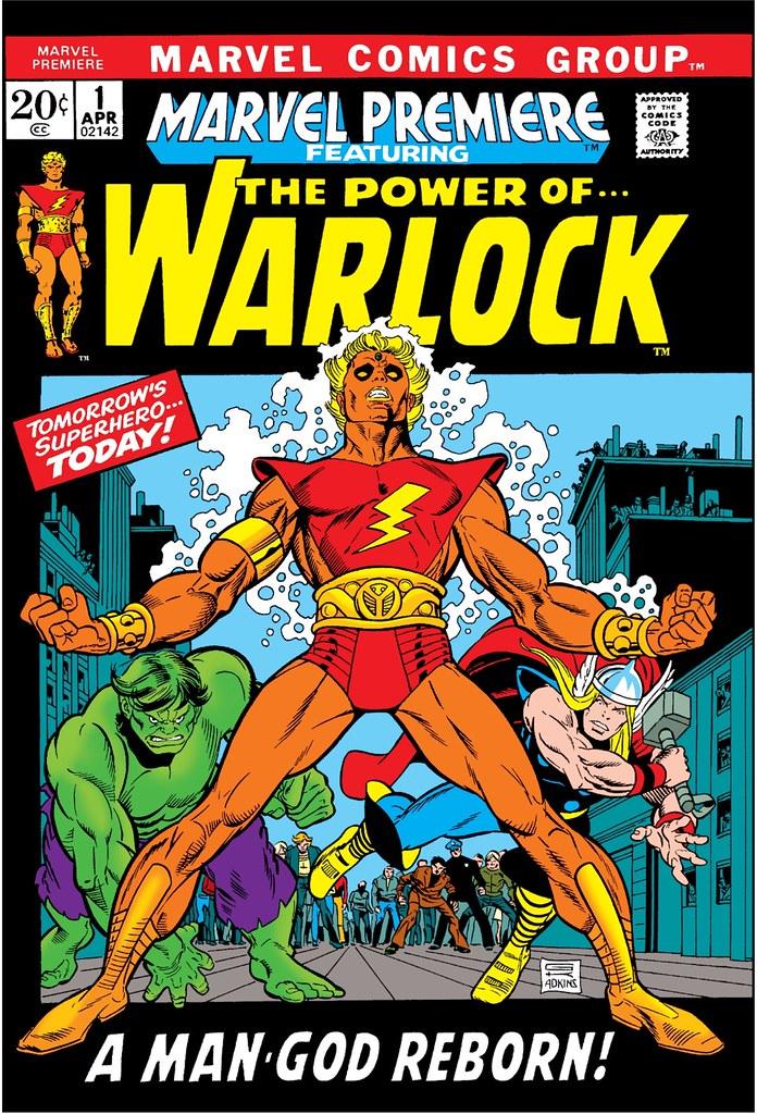 Marvel Premiere 1 Warlock by Gil Kane