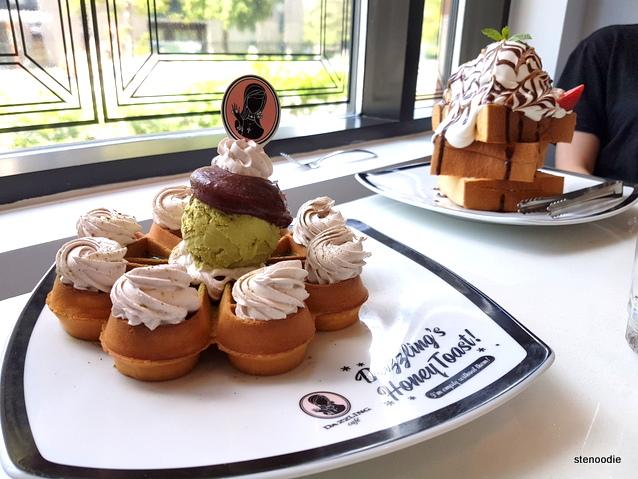 Dazzling Cafe desserts