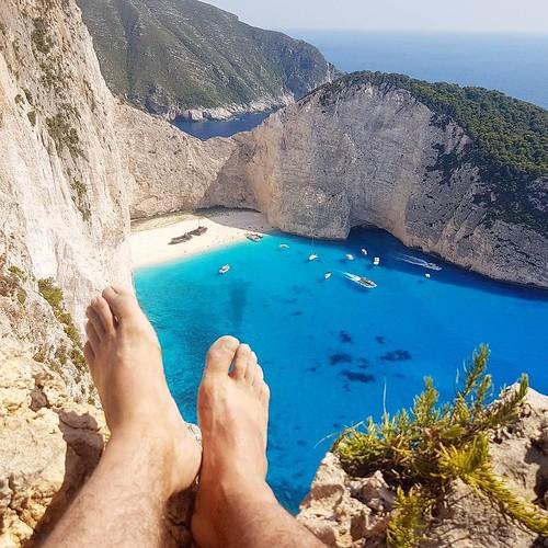 Praia do Naufrágio na Grecia
