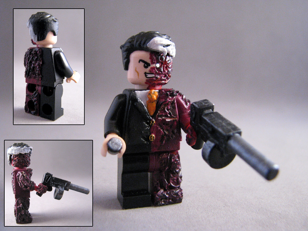 Two face - Lego Custom | Hey guys this is my new Original ...