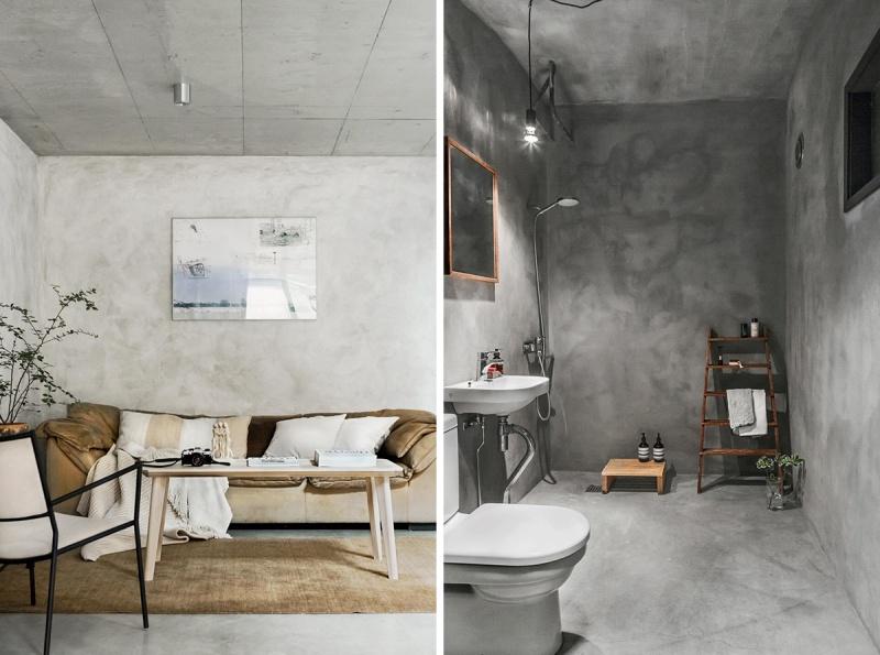A Beautiful Concrete Swedish Home