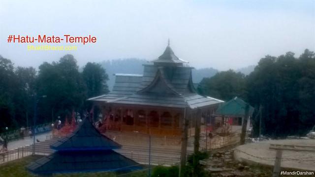 हाटू माता मंदिर (Hatu Mata Temple) - Hatu Peak, Narkanda, Himachal Pradesh - 171213