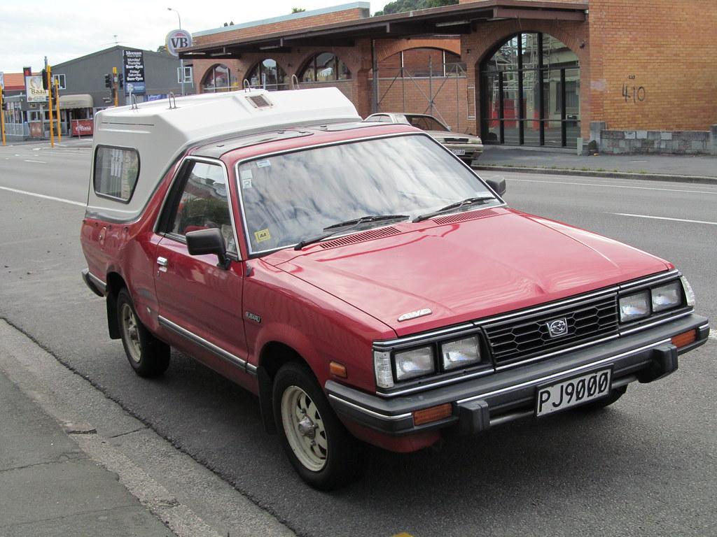 ... 1990 Subaru Brumby | by NZ Car Freak & 1990 Subaru Brumby | Seen in Dunedin a few years ago with thu2026 | Flickr