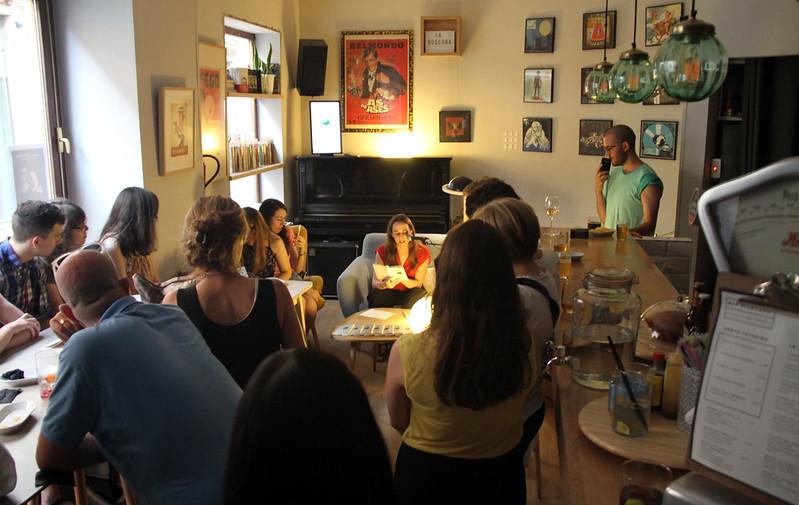 AUTORREGALO - ALBA FLORES ROBLA - BAR BELMONDO · LA BUSCONA · 21.06.17