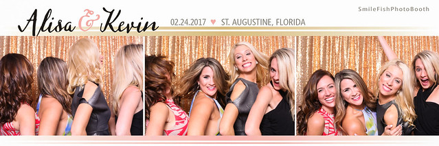 White Room Wedding Villa Blanca Photo Booth | St. Augustine, FL