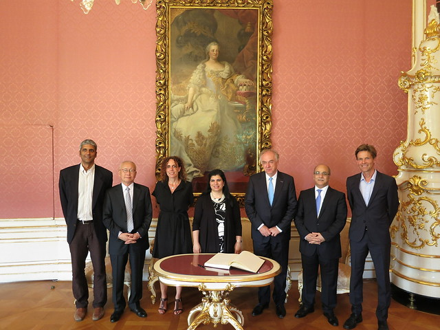 17.06 HRH Princess Sumaya of Jordan visits IIASA