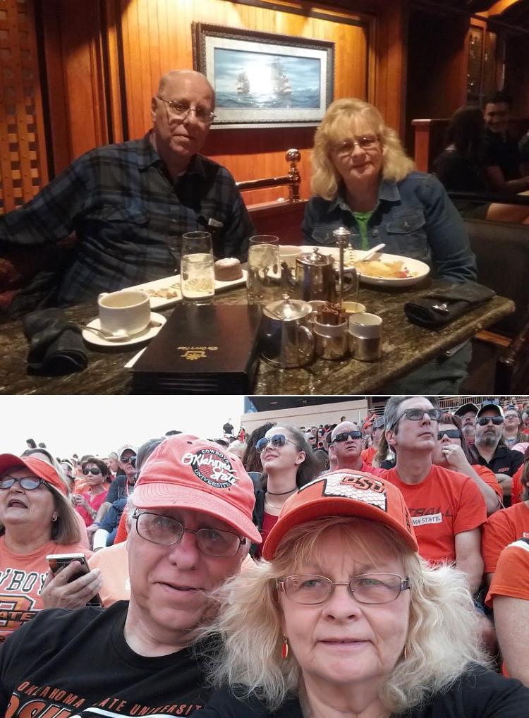 Ed and Jen Butler, a couple of Oklahoma natives.