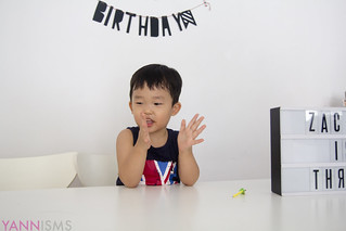 Zac is three! | by yannie
