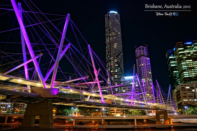 Day 5 - Brisbane South Bank River Bridge