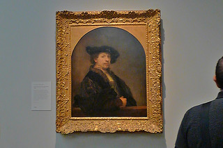 London - National Gallery Rembrandt Self Portrait
