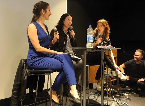 Frida Malmgren, Nina Hemmingsson och Ellen Ekman.