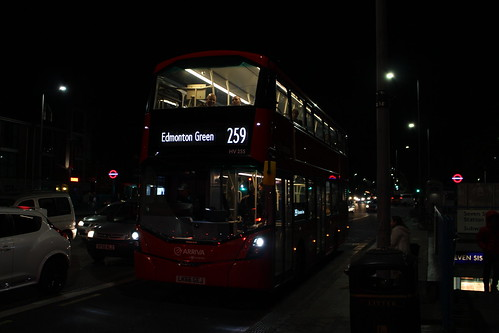 Arriva London HV255 on Route 259, Seven Sisters