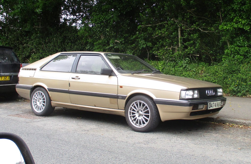 1987 audi 80 gt coupe a creditable 213 000 miles at the mo flickr. Black Bedroom Furniture Sets. Home Design Ideas