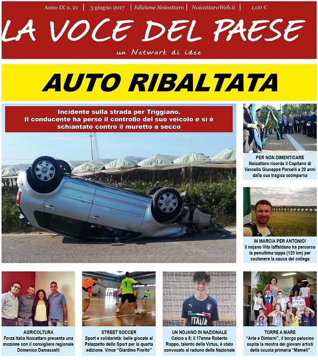 Noicattaro. Prima pagina n. 21-2017 intero
