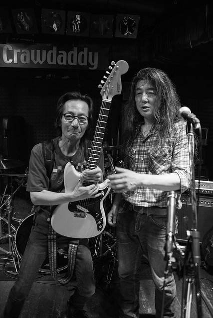 O.E. Gallagher live at Crawdaddy Club, Tokyo, 17 Jun 2017, after the show  -00549