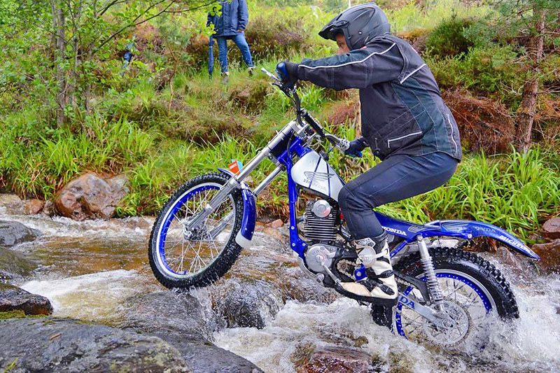 Highland 2 Days Classic Trial 2017. The Honda edition!