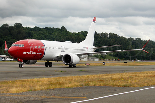 Boeing 737 MAX 8 Norwegian Air International EI-FYA LN6360