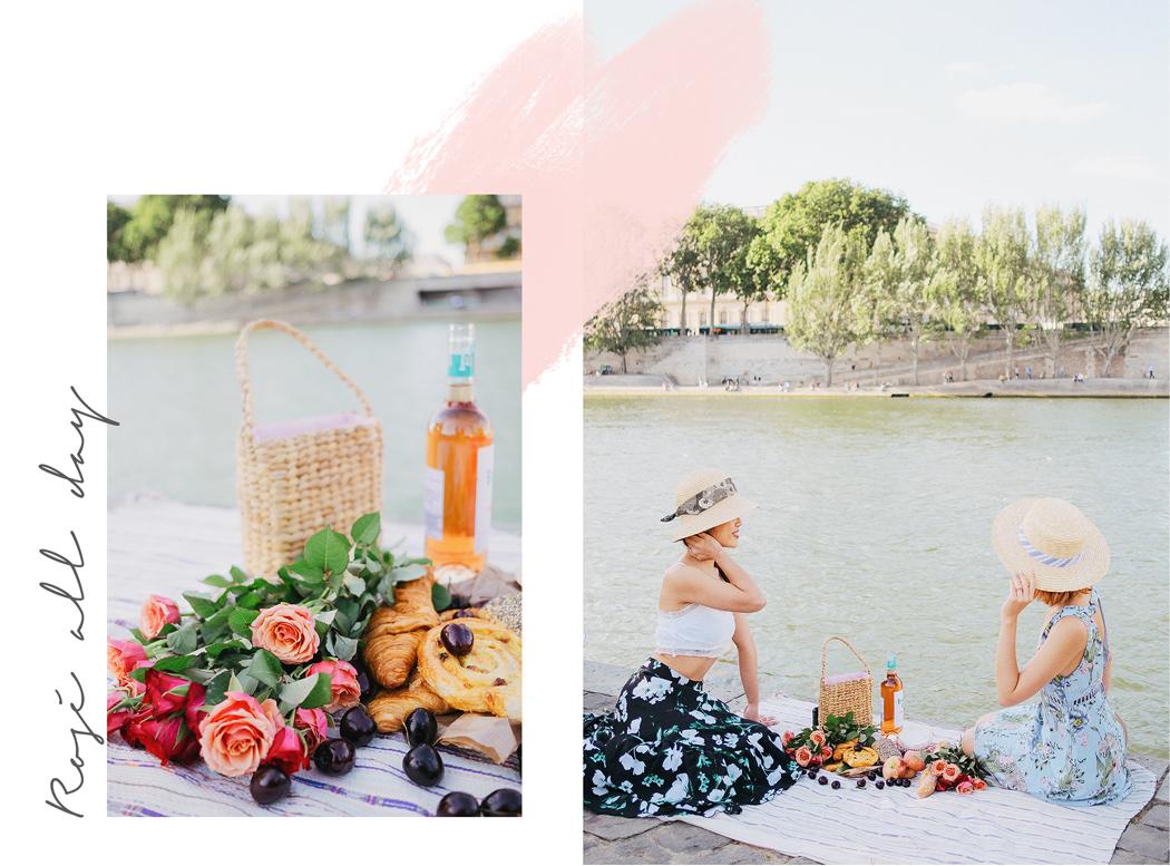 Paris in a picnic basket