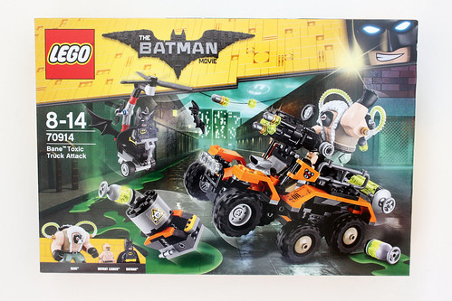 The LEGO Batman Movie Bane Toxic Truck Attack (70914)