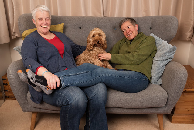 Carol and her partner Ann © Anita Corbin