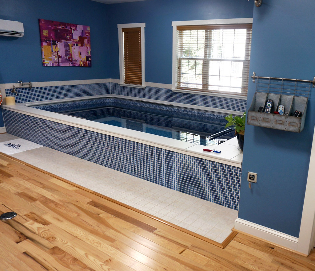 Endless Pool In A Renovated Garage