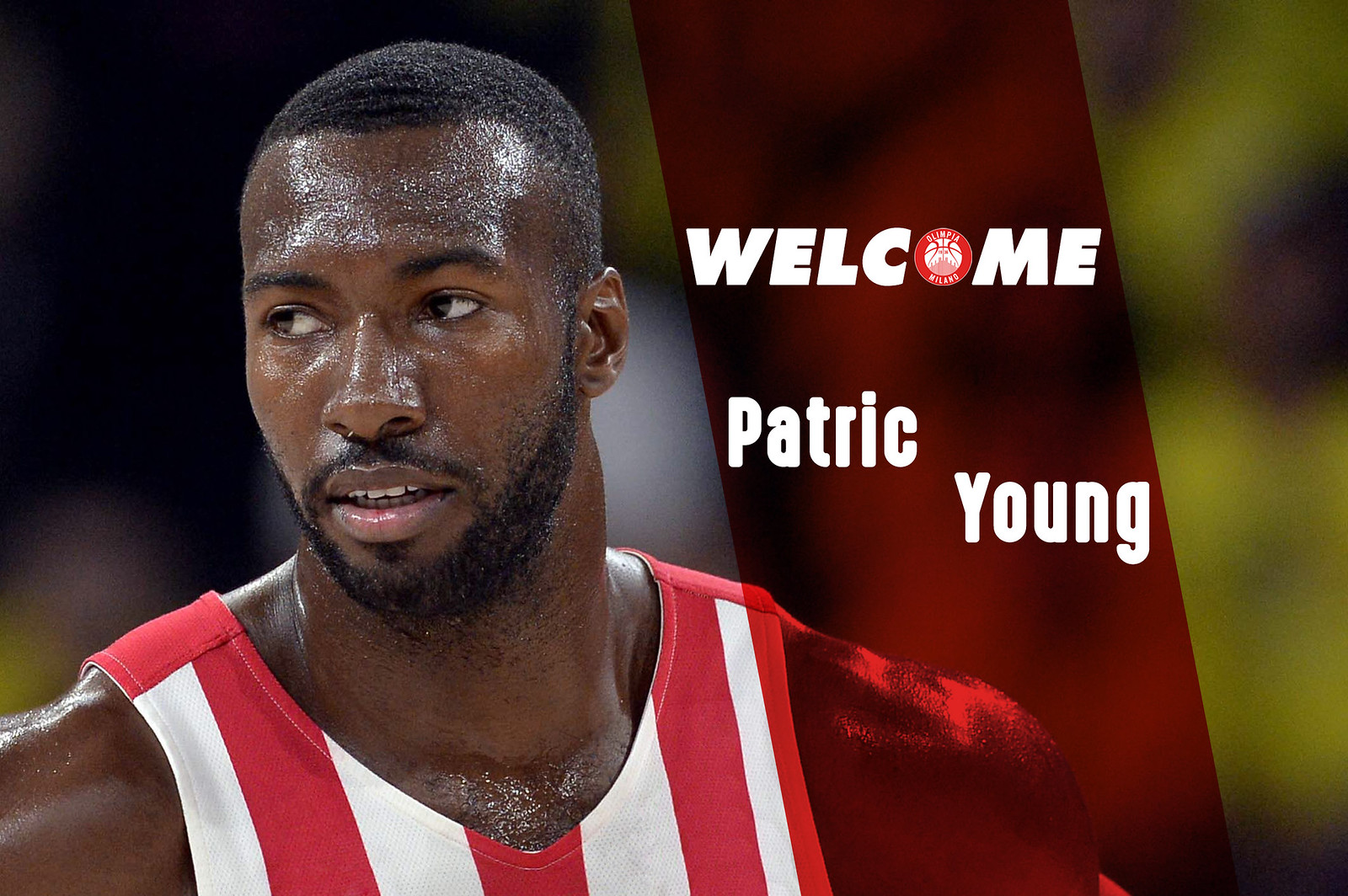 Patric Young è il centro dell'Olimpia Milano