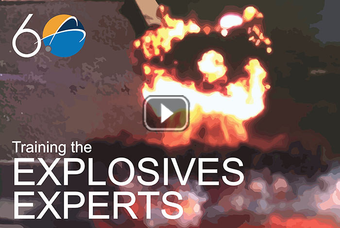 Science in 60 - Training the explosives experts