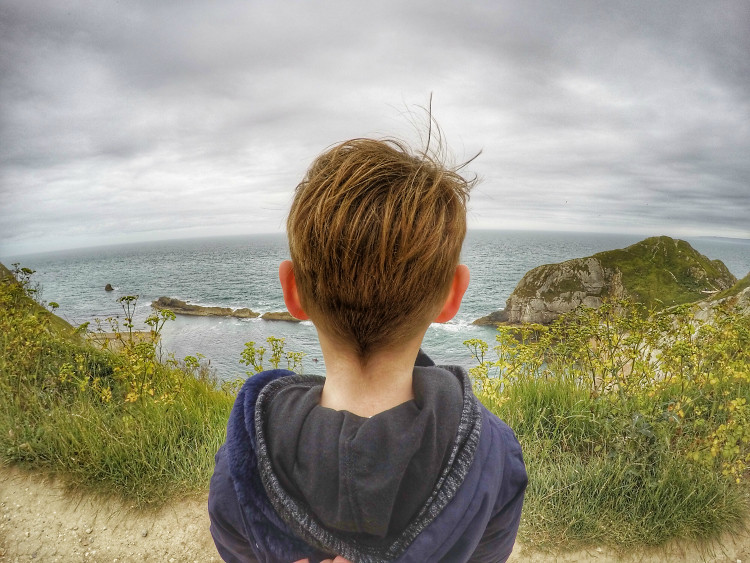View at Durdle Door