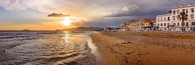 Sperlonga Beach Sunset