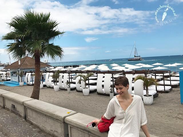maj 2017, Teneryfa, pływanie, Playa Fañabe