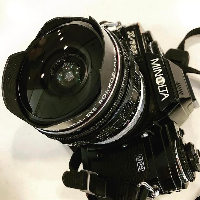 Minolta MC 16mm f2.8 最有Leica味的魚眼