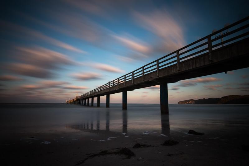 Binz Seebrücke Strand Landschaftsfotografie