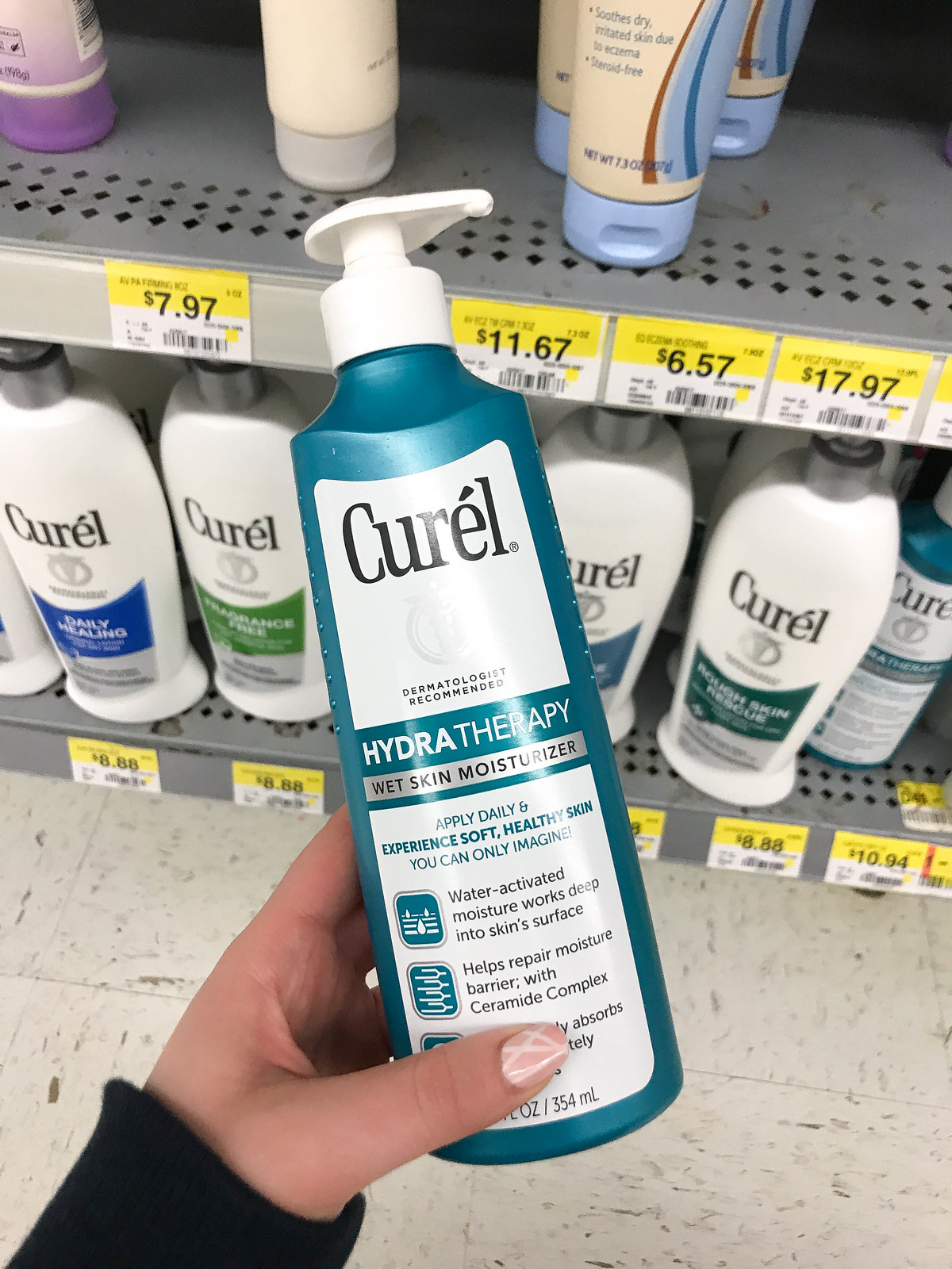 4 Reasons Why Wet Skin Moisturizer is the Best Curel Hydra Therapy Wet Skin Moisturizer at Walmart