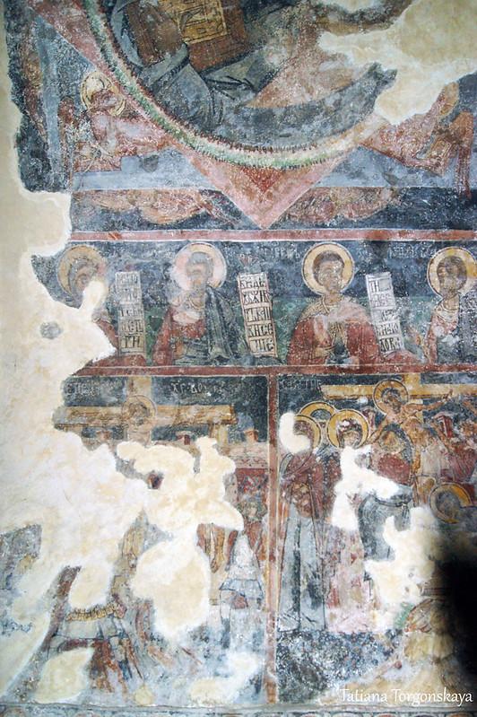 Фрески в Успенском храме