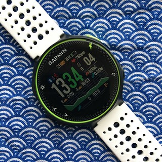 GearMin (Watch Face) - GARMIN ForeAthlete 235J