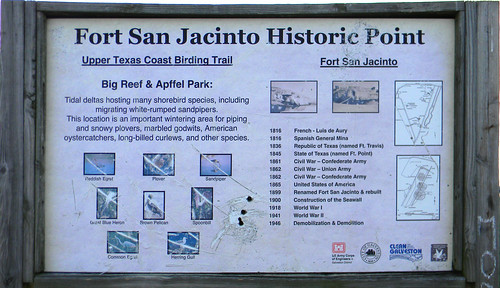 Fort San Jacinto Historic Point | by Wil C. Fry