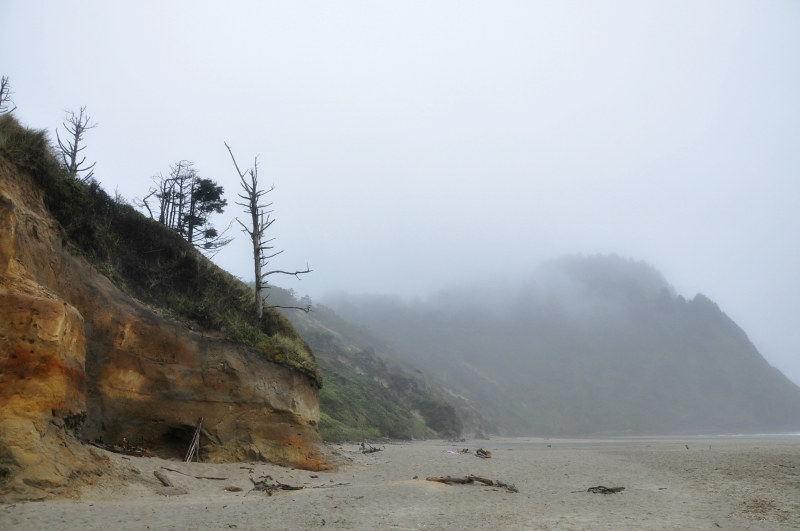 Foggy Oregon Coast @ Mt. Hope Chronicles