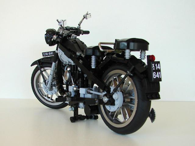 Nimbus motorbike, black C