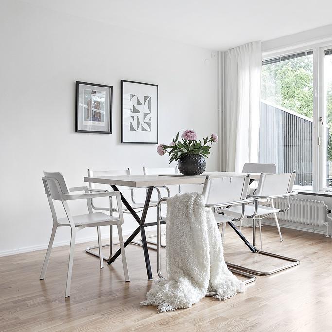 Fresh Scandinavian Home Filled with Natural Light