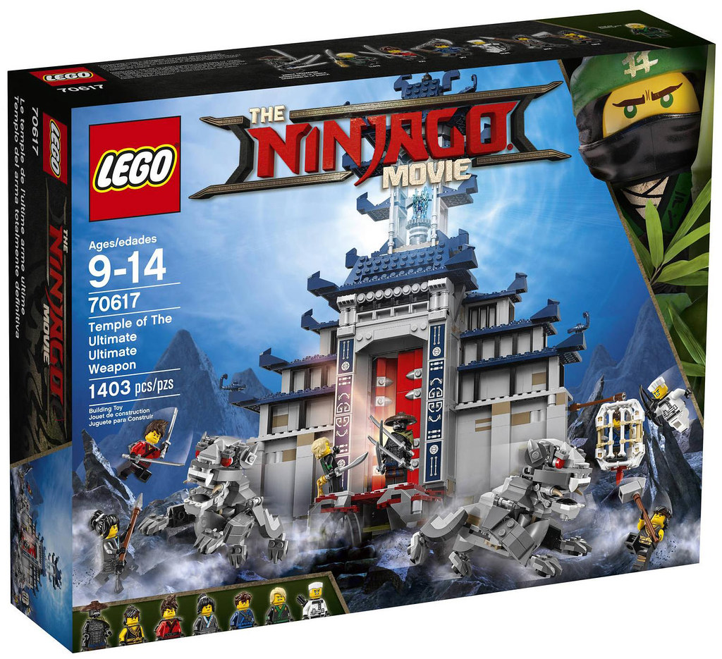 The LEGO Ninjago Movie 70617 - Temple of The Ultimate
