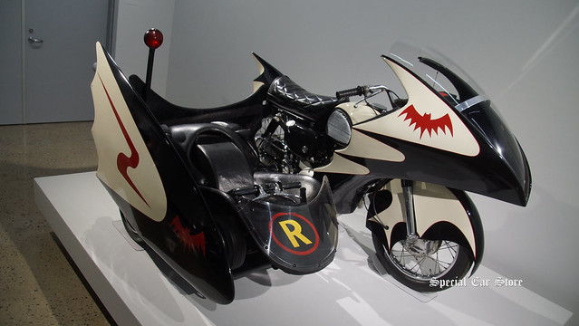 1966 Yahama YD5-3 Batcycle ridden in TV Batman series