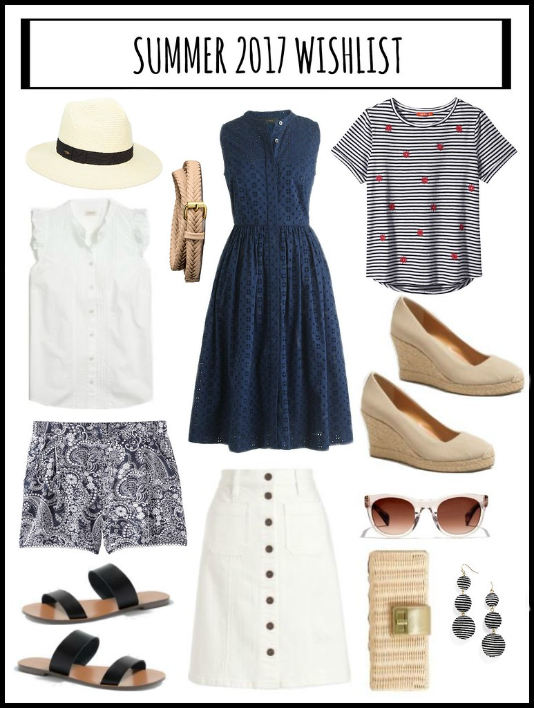 summer 2017 wishlist | Style On Target blog