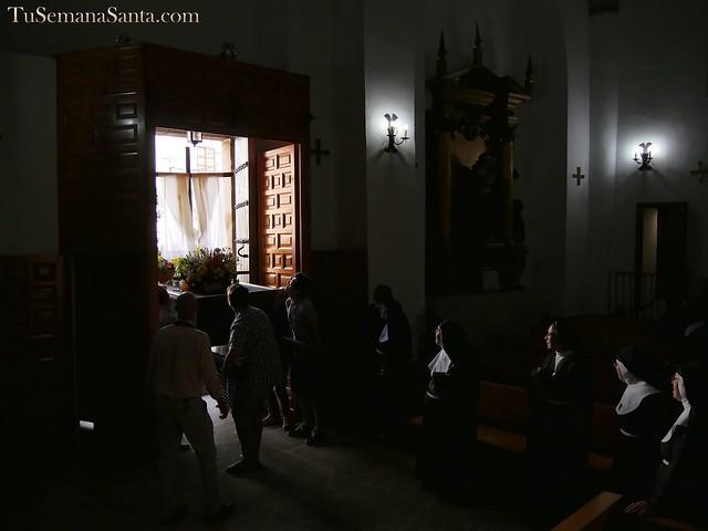 Procesión de la Santa Cruz. Cofradía de la Soledad