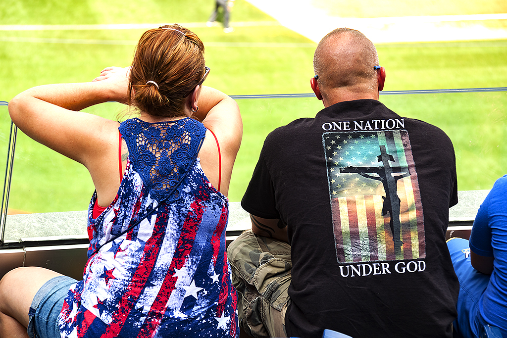 ONE NATION UNDER GOD--Citizens Bank Park